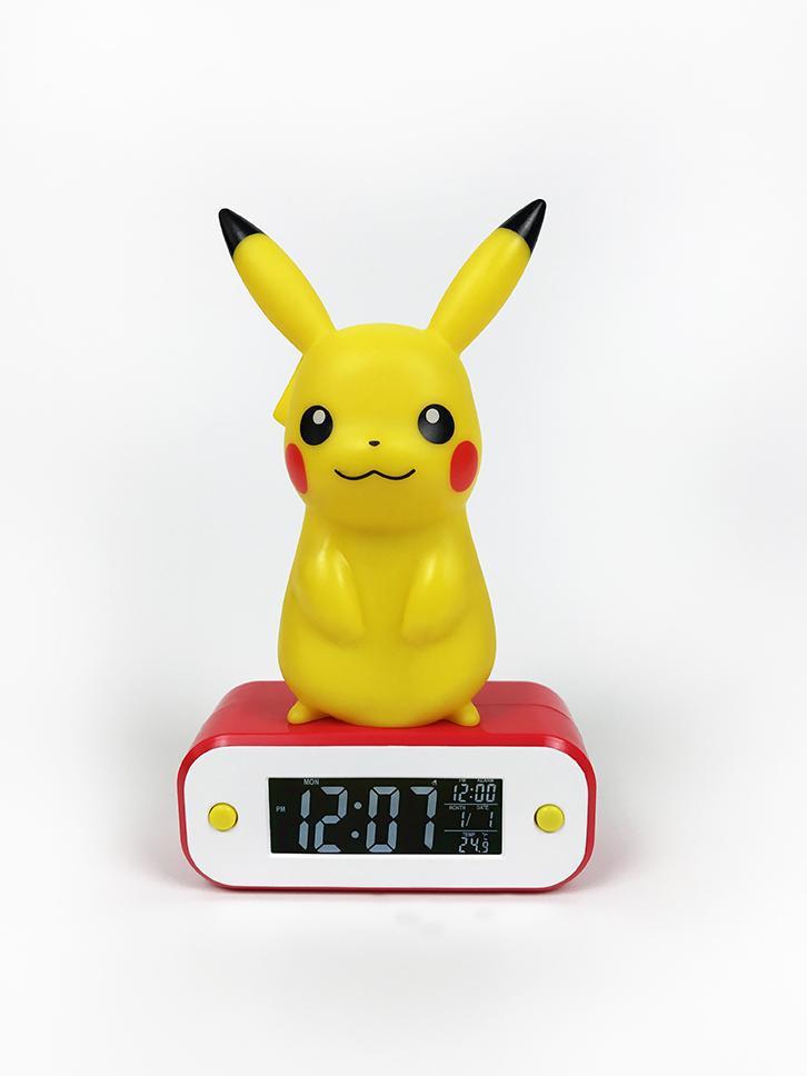 Budík Pokémon - Pikachu (stojící)