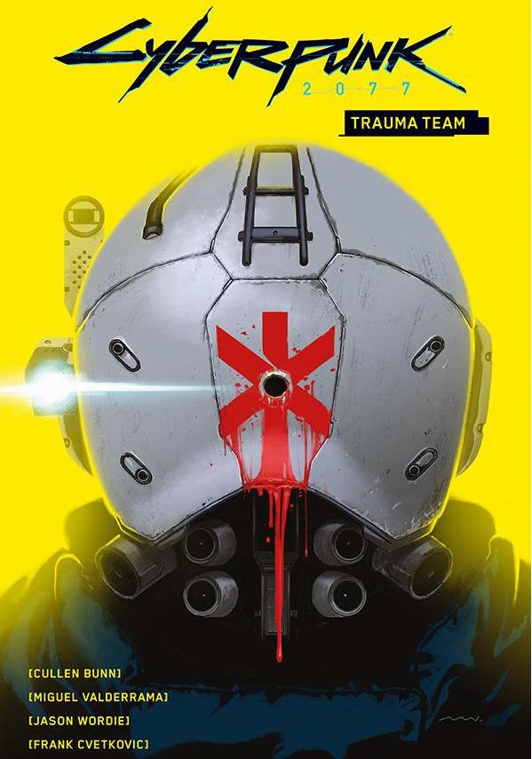 Komiks Cyberpunk 2077 Volume 1: Trauma Team CZ