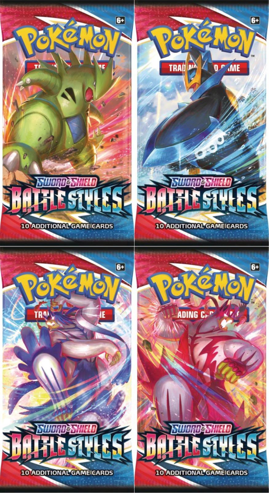 Karetní hra Pokémon TCG: Sword & Shield Battle Styles - booster (10 karet)