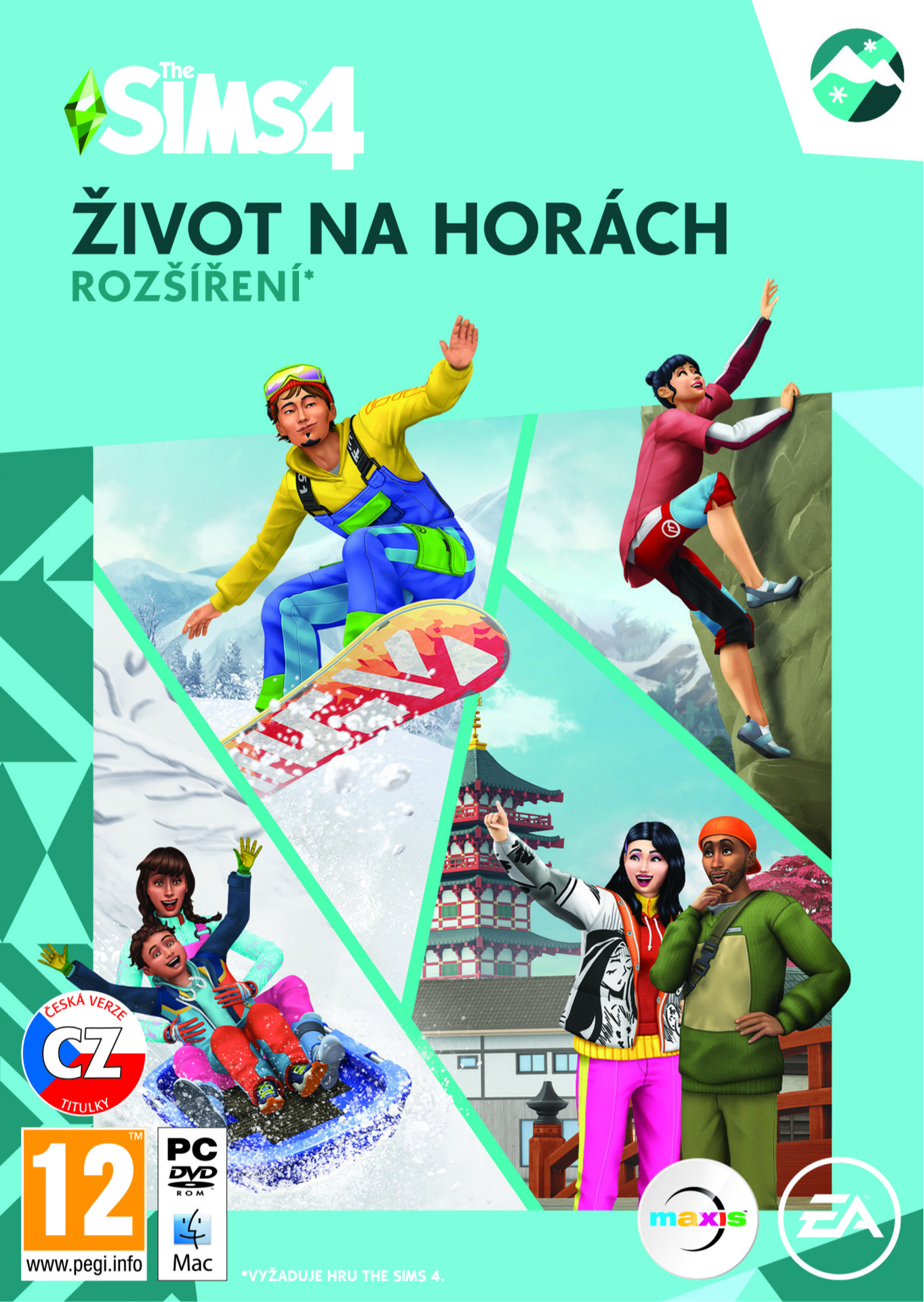 The Sims 4: Život na horách (rozšíření) + The Sims 4 zdarma (PC)