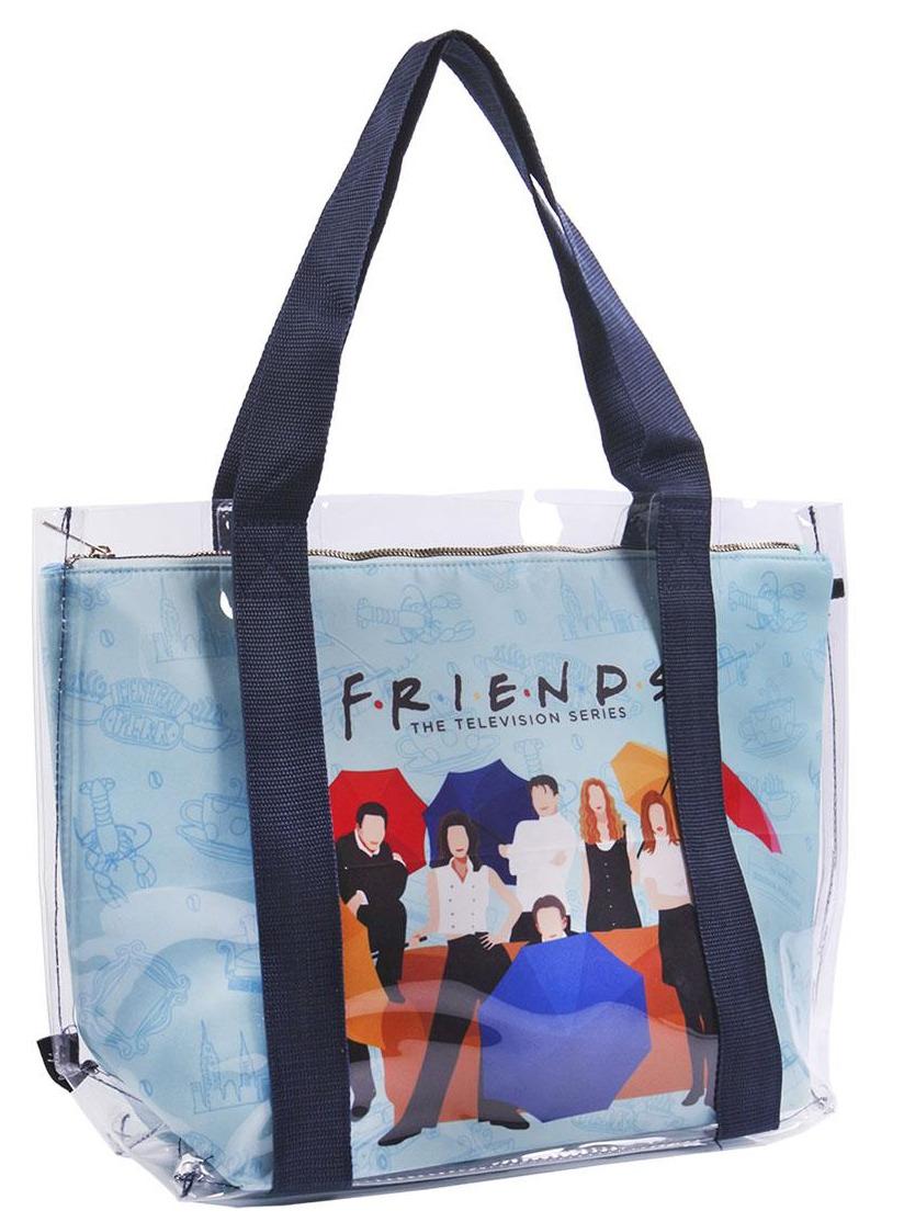 Taška Friends - Transparent