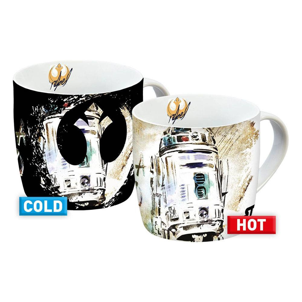 Hrnek Star Wars - R2-D2 (měnící se)