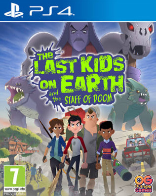 The Last Kids on Earth and the Staff of Doom (PS4)