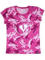 Tričko dívčí Fortnite - Pink