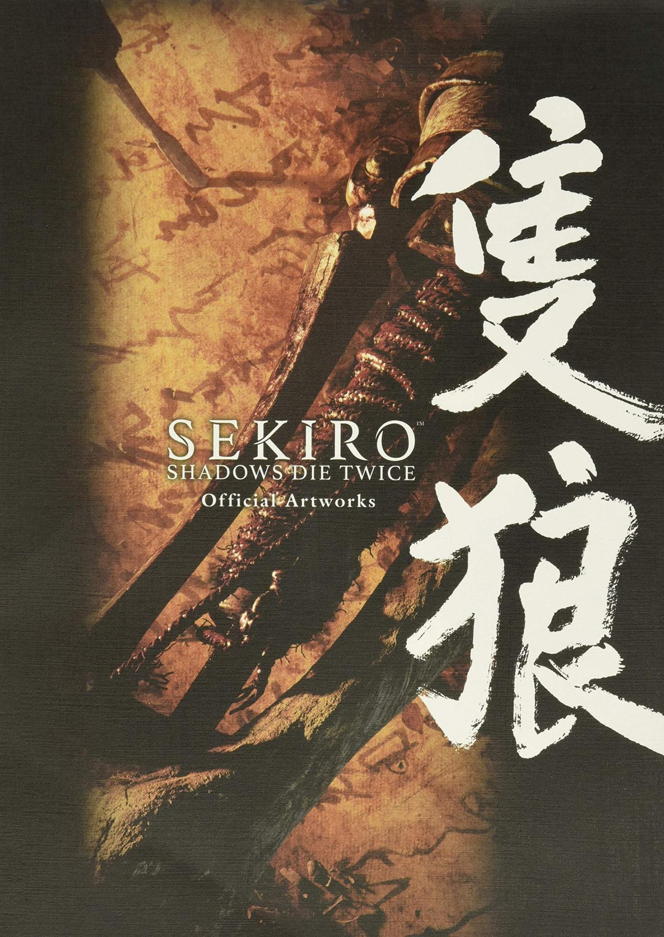 Kniha Sekiro: Shadows Die Twice Official Artworks