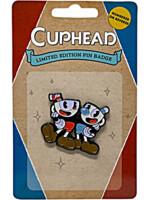 Odznak Cuphead - Cuphead & Mugman Limited Edition