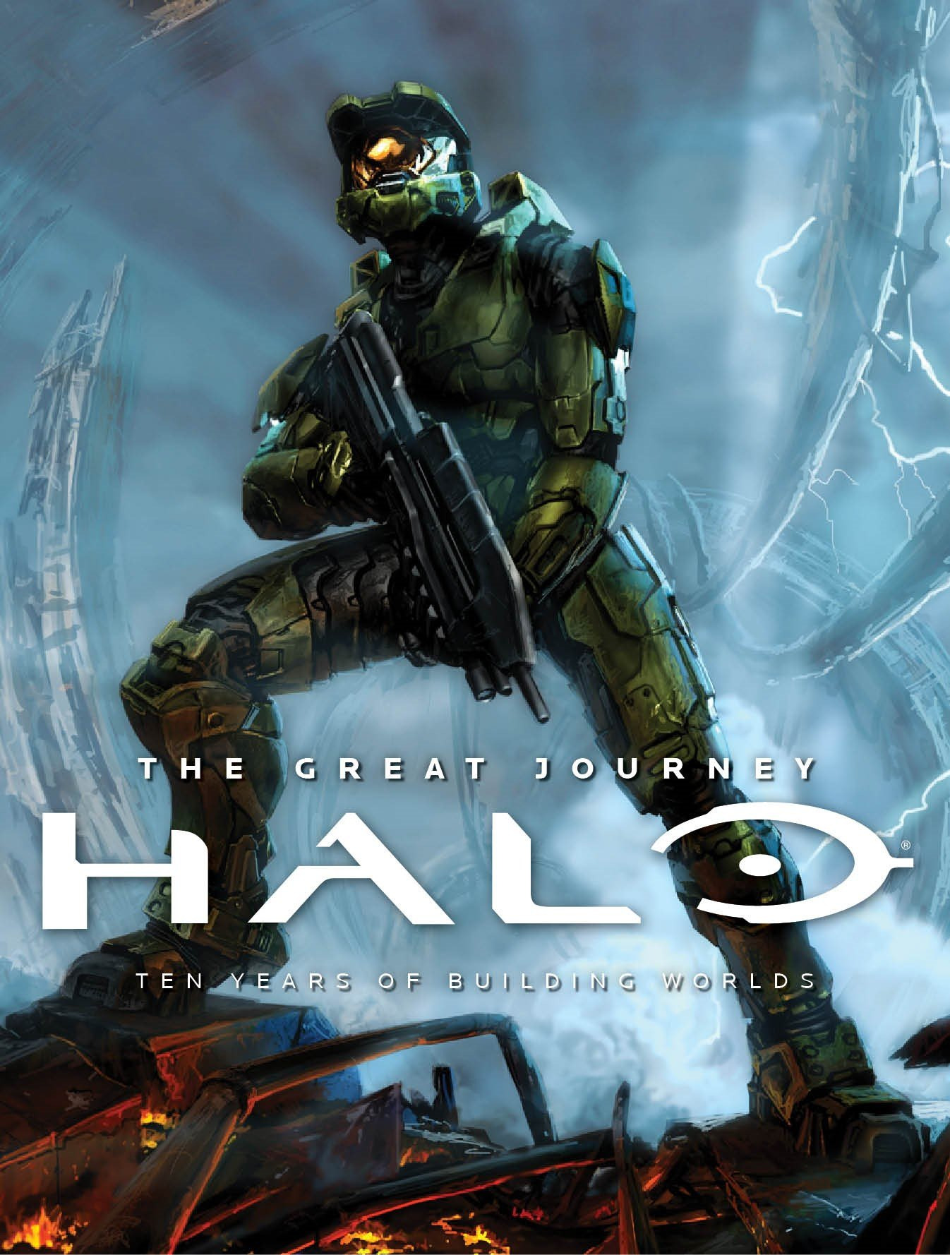 Kniha Halo: The Great Journey - The Art of Building Worlds
