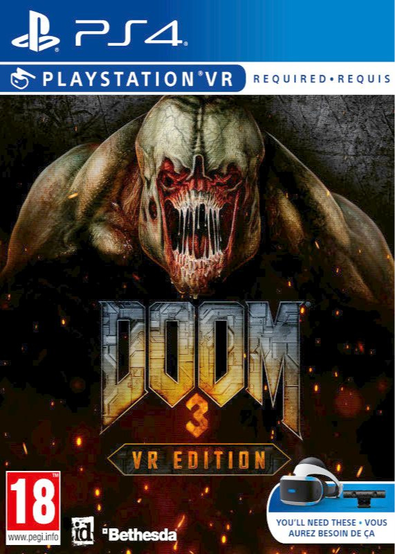 Doom 3 VR Edition (PS4)