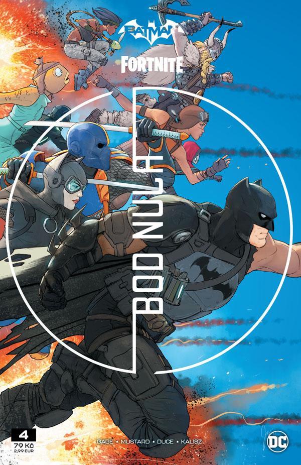 Komiks Batman/Fortnite: Bod Nula #4
