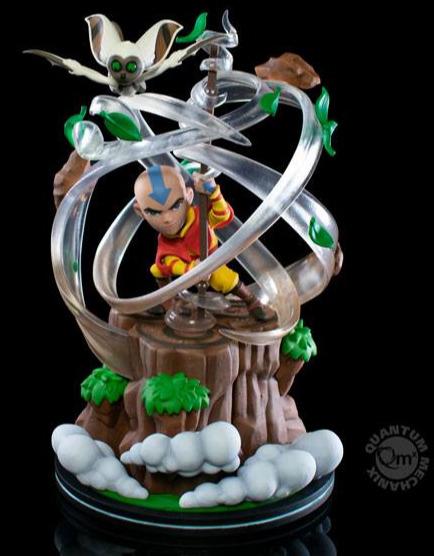 Figurka Avatar: The Last Airbender - Aang (Q-Fig Max Elite)