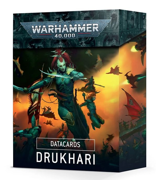W40k: Drukhari Datacards (2021)