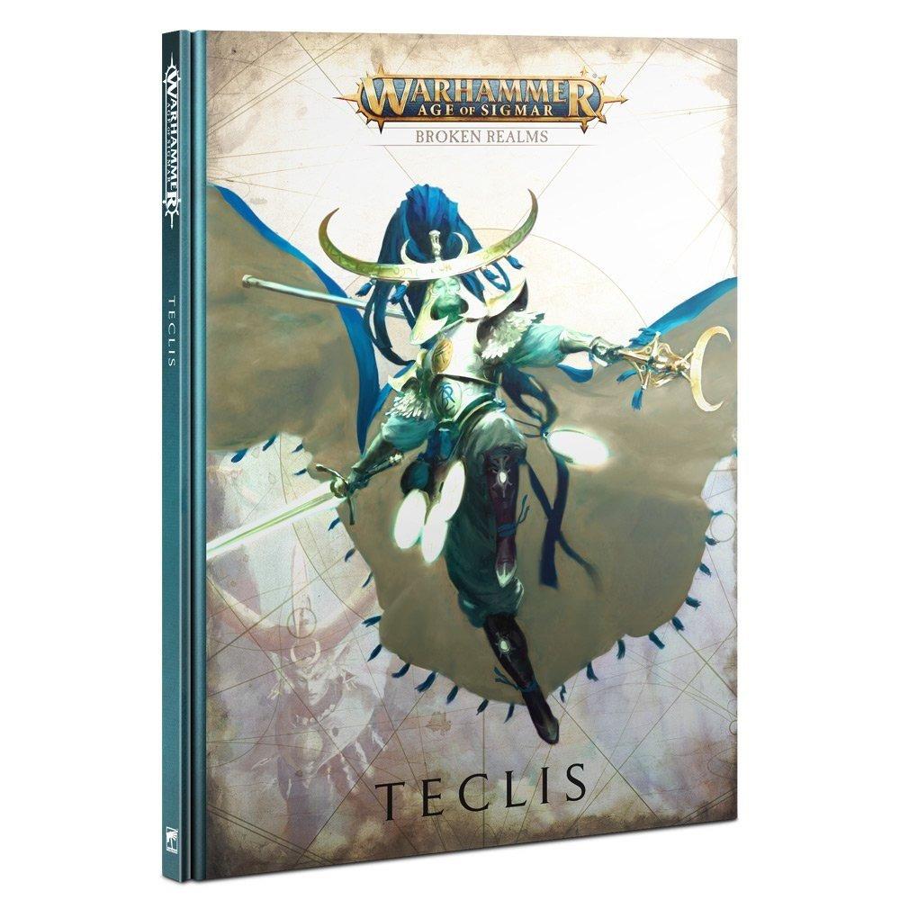 Kniha Warhammer Age of Sigmar: Broken Realms - Teclis