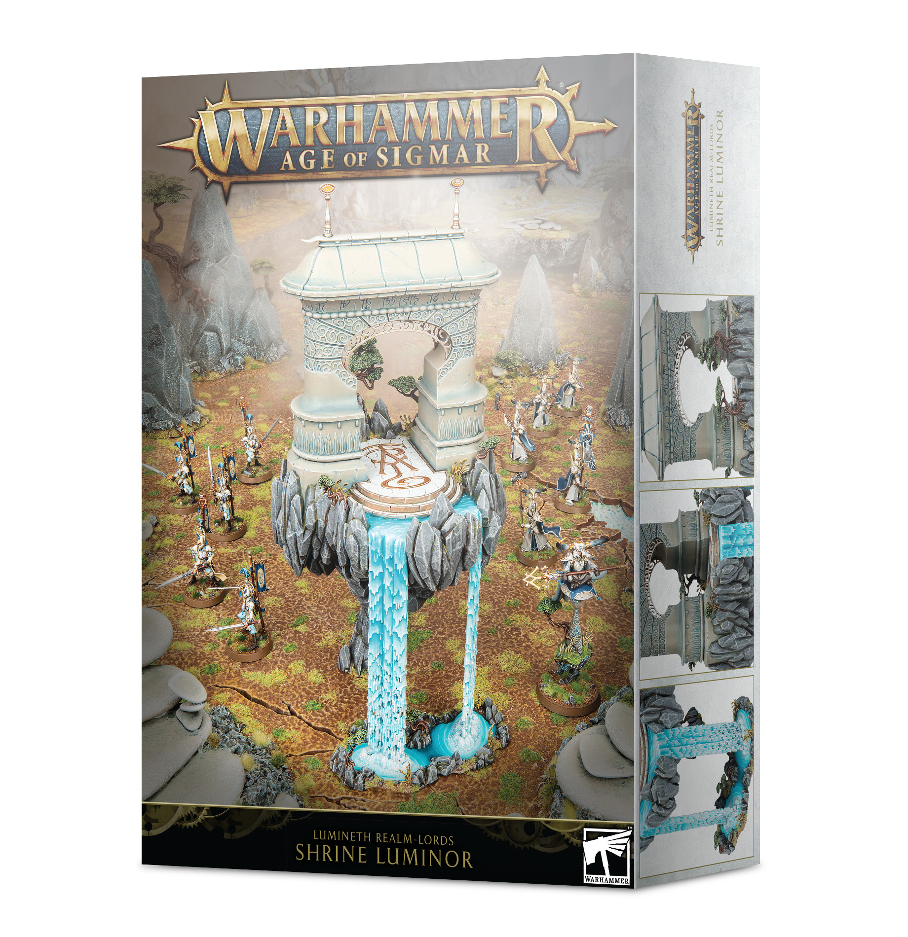 W-AOS: Lumineth Realm Lords Shrine Luminor (1 figurka)
