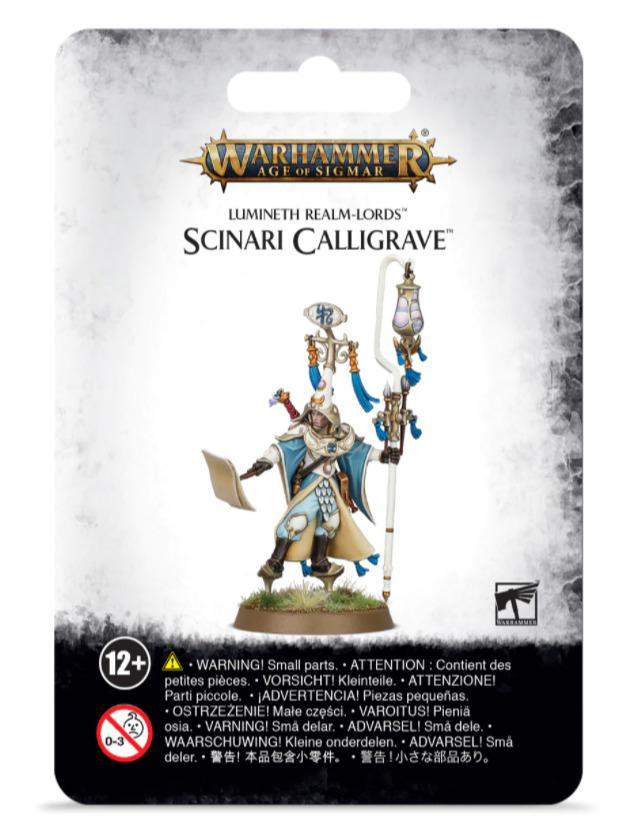 W-AOS: Lumineth Realm Lords Scinari Calligrave (1 figurka)