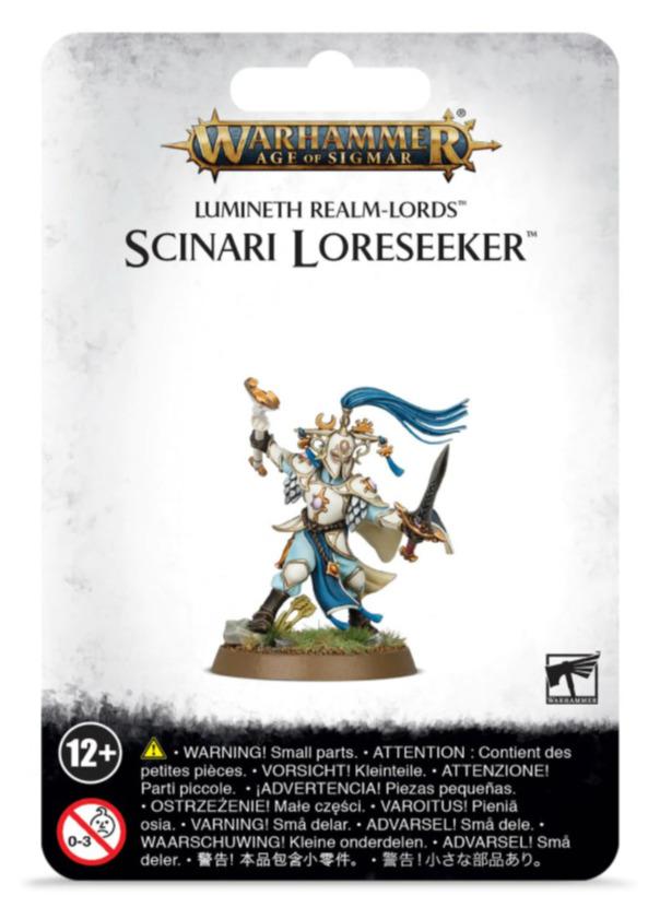 W-AOS: Lumineth Realm Lords Scinari Loreseeker (1 figurka)