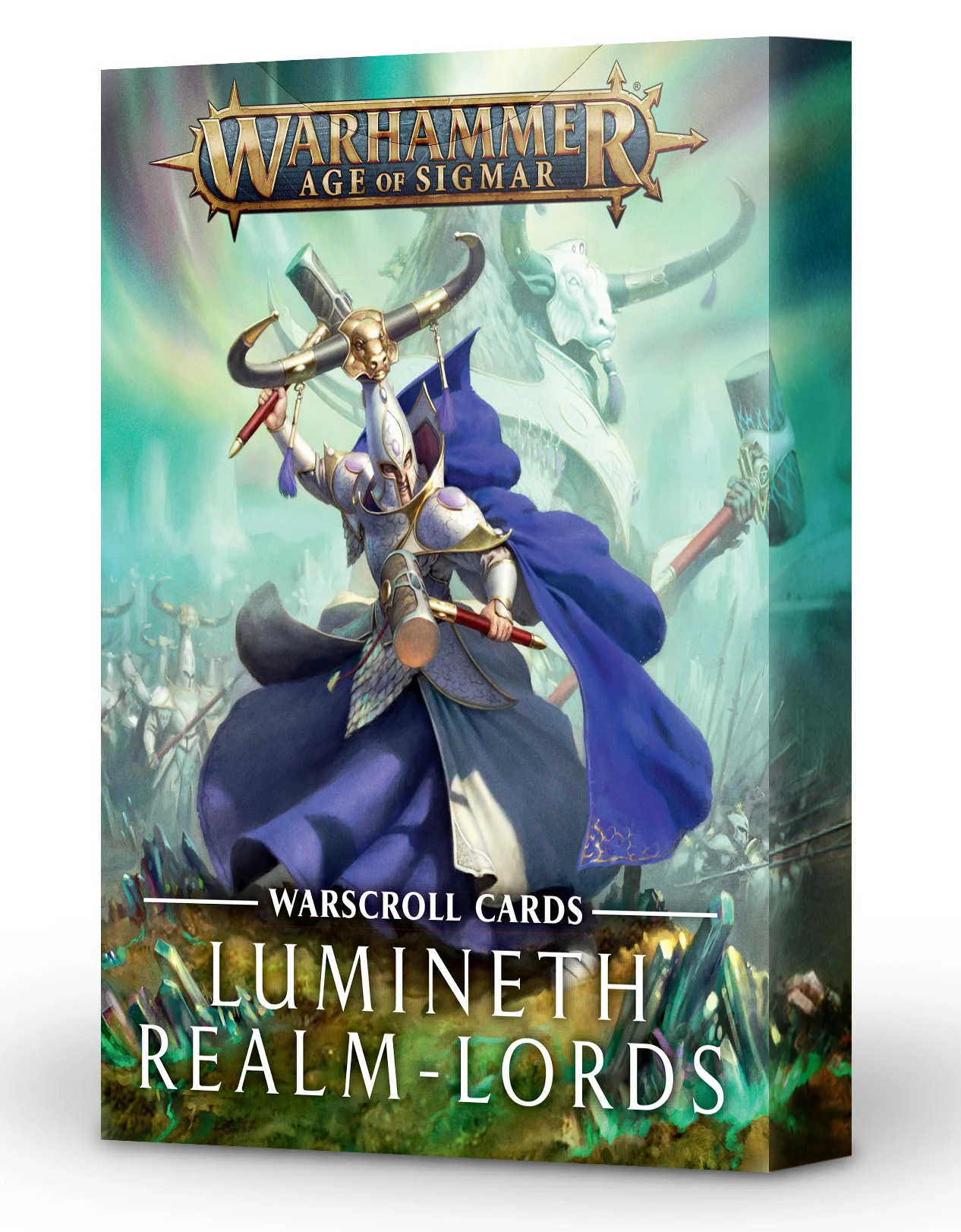 W-AOS: Warscroll Cards: Lumineth Realm Lords