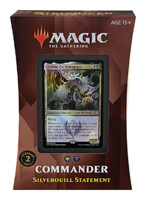 Karetní hra Magic: The Gathering Strixhaven - Silverquill Statement (Commander Deck)