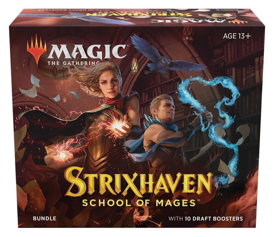 Karetní hra Magic: The Gathering Strixhaven - Bundle