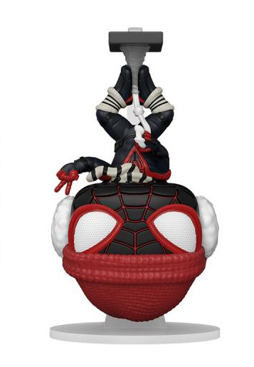 Figurka Spider-Man - Miles Morales Winter Suit Hanging Special Edition (Funko POP! Games 774)