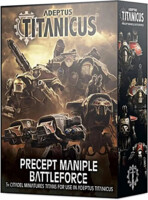 W40k: Adeptus Titanicus - Precept Maniple Battleforce (5 figurek)