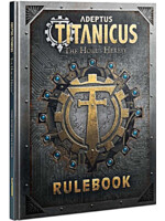 Kniha W40k Adeptus Titanicus: Rulebook