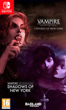 Vampire: The Masquerade - Coteries of New York + Shadows of New York (SWITCH)