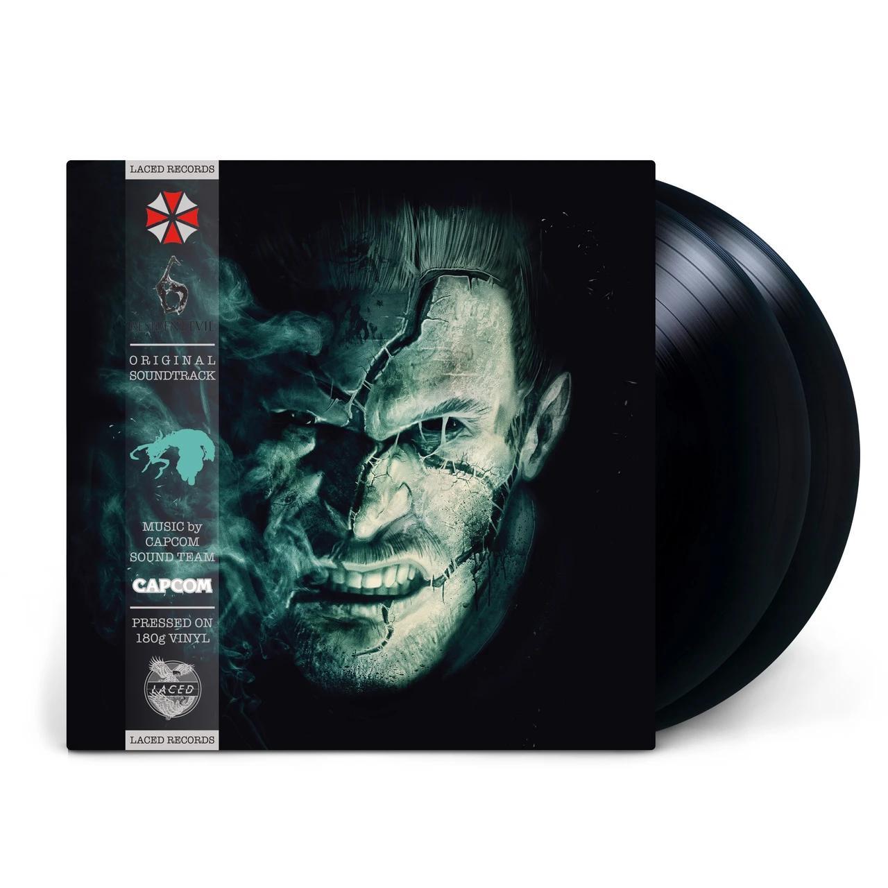 Oficiální soundtrack Resident Evil 6 na LP
