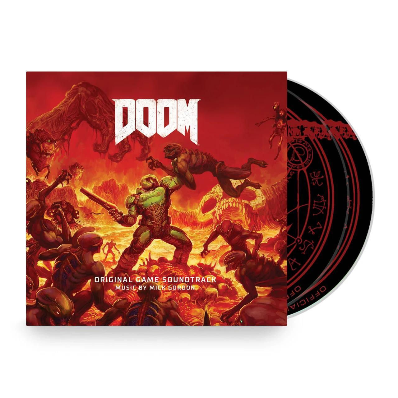 Oficiální soundtrack DOOM na CD