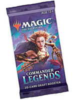 Karetní hra Magic: The Gathering Commander Legends - Draft Booster (20 karet)