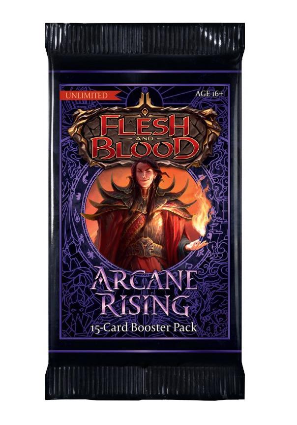 Karetní hra Flesh & Blood TCG: Arcane Rising - Unlimited Booster