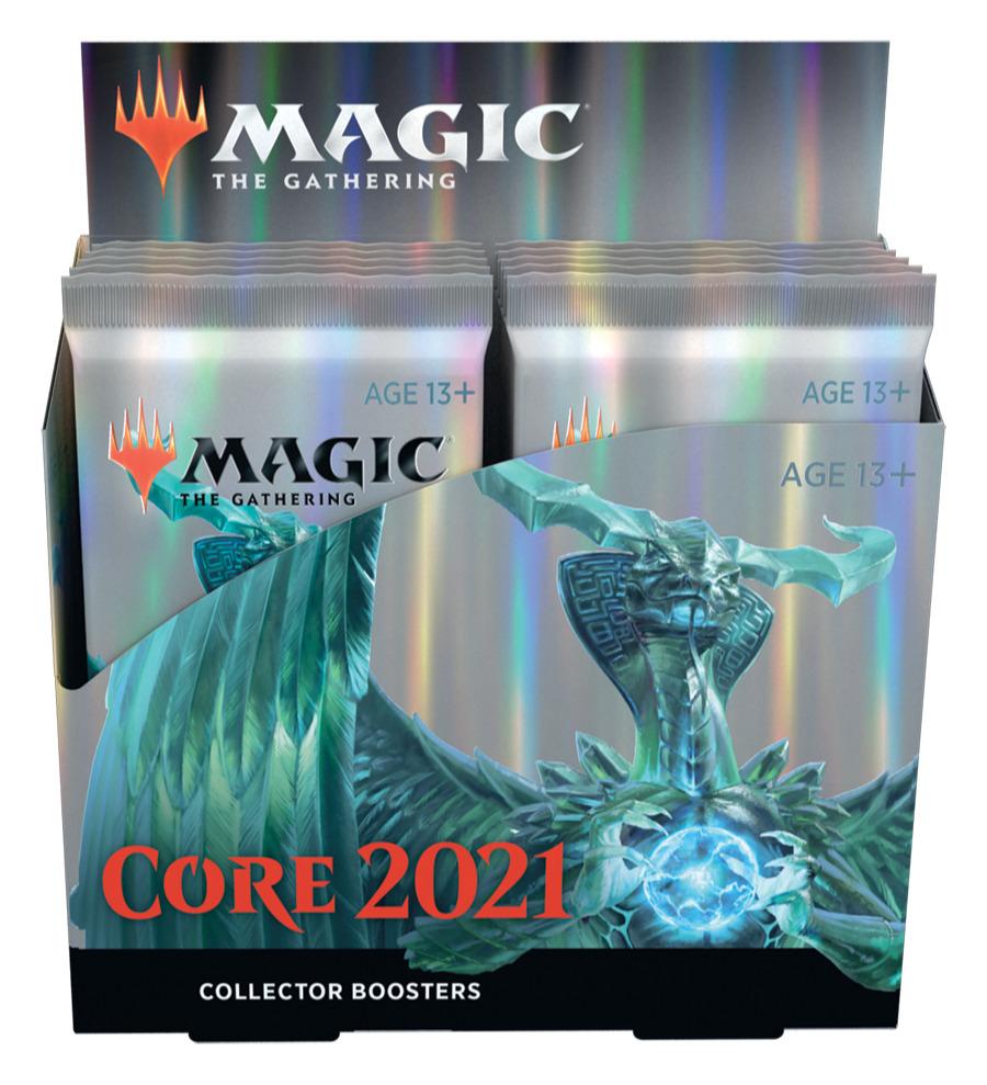 Karetní hra Magic: The Gathering 2021 - Collector Booster Box (12 Boosterů)