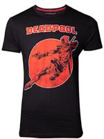 Tričko Deadpool - Vintage