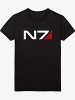 Tričko Mass Effect - N7 Classic Logo