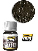 Texturová barva Mig Jimenez Ammo Heavy Mud - Wet Mud (1705)