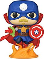Figurka Marvel: Infinity Warps - Soldier Supreme Glow in the Dark (Funko POP! Marvel 679)
