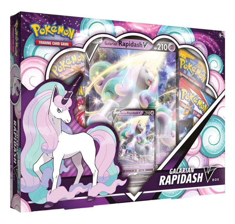 Karetní hra Pokémon TCG: Sword & Shield - Galarian Rapidash V Box