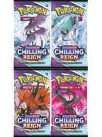 Karetní hra Pokémon TCG: Sword & Shield Chilling Reign - booster (10 karet)