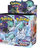 Karetní hra Pokémon TCG: Sword & Shield Chilling Reign - booster box (36 boosterů)