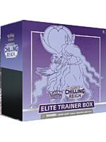 Karetní hra Pokémon TCG: Sword & Shield Chilling Reign - Elite Trainer Box (Shadow Rider Calyrex)