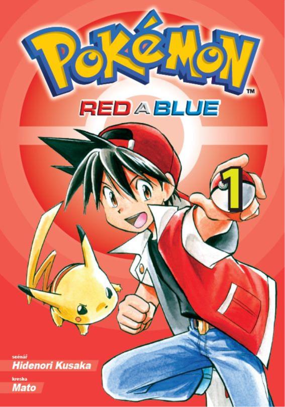 Komiks Pokémon - Red a Blue 1