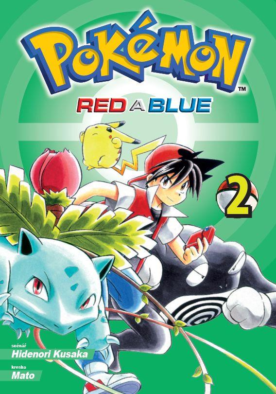 Komiks Pokémon - Red a Blue 2