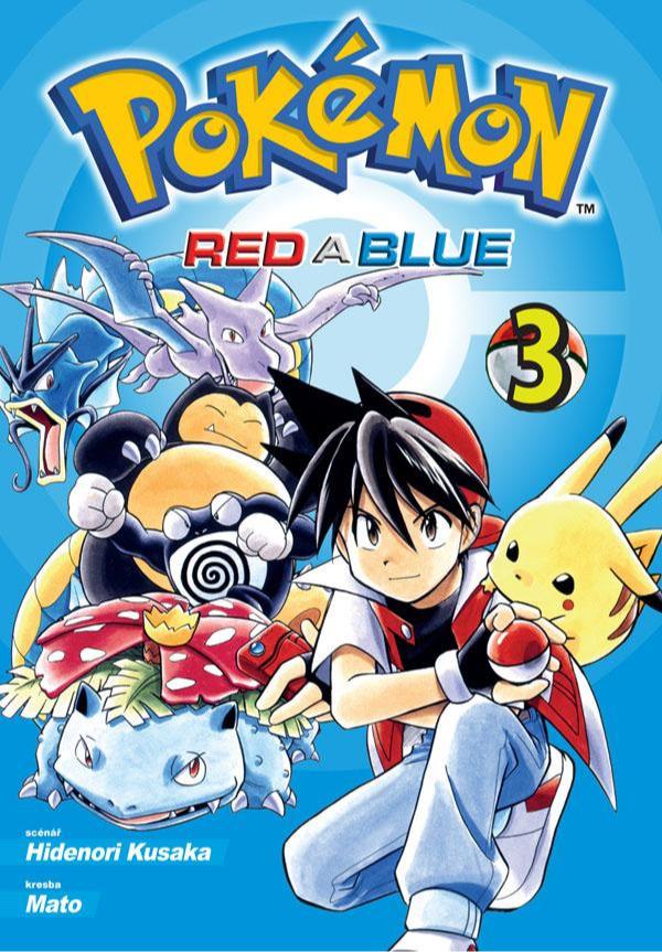 Komiks Pokémon - Red a Blue 3