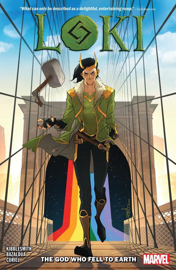 Komiks Loki: Bůh, který spadl na Zemi