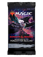 Karetní hra Magic: The Gathering Dungeons and Dragons: Adventures in the Forgotten Realms - Draft Booster (15 karet)