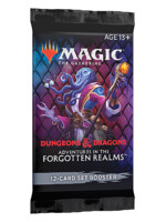 Karetní hra Magic: The Gathering Dungeons and Dragons: Adventures in the Forgotten Realms - Set Booster (12 karet)