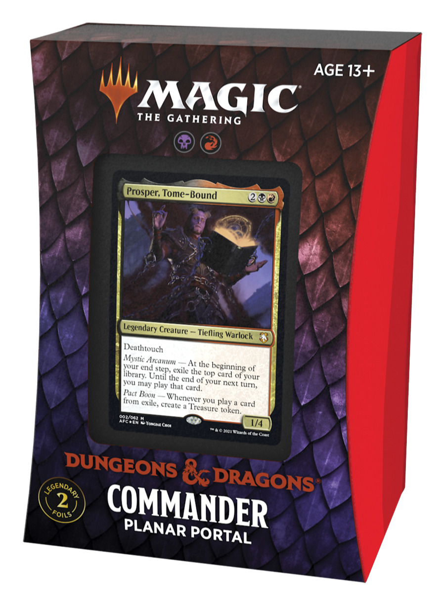 Karetní hra Magic: The Gathering Dungeons and Dragons: Adventures in the Forgotten Realms - Planar Portal (Commander Deck)