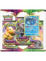 Karetní hra Pokémon TCG: Sword and Shield Vivid Voltage - 3-Pack Blister Booster (Vaporeon)