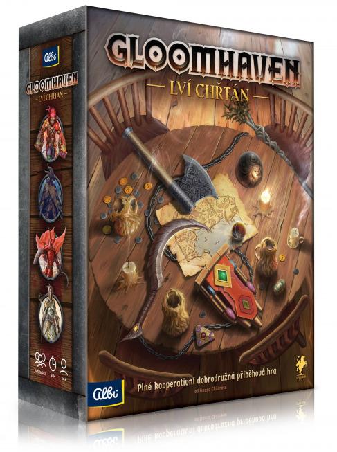 Desková hra Gloomhaven: Lví chřtán