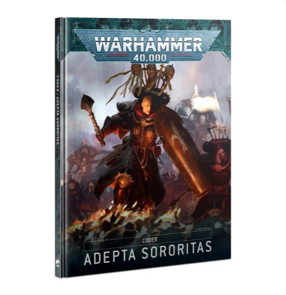 Kniha W40k: Codex: Adepta Sororitas (2021)