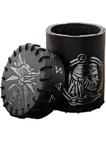 Pohár na kostky Zaklínač - Geralt (kožený)